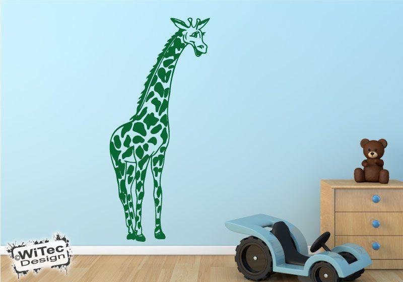 Wandtattoo Kinderzimmer Giraffe