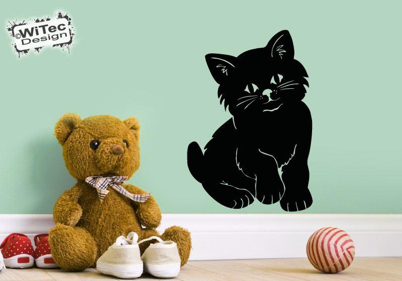 Wandtattoo Katze Wandaufkleber Kätzchen