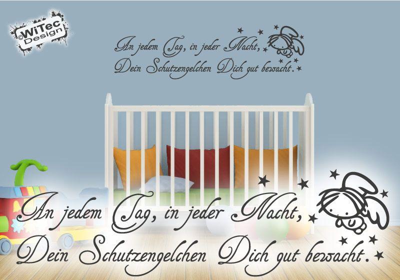 Wandtattoo SCHUTZENGEL Engel Wandaufkleber