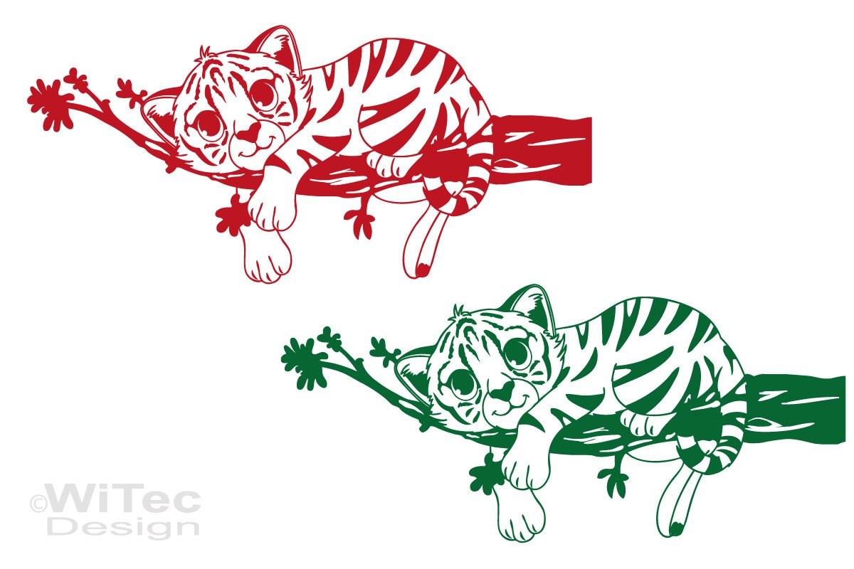 Wandtattoo Baby Tiger Nalani Wandaufkleber