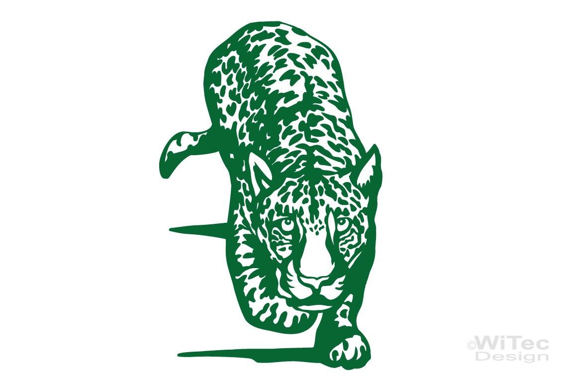 Wandtattoo Leopard Afrika Wandaufkleber