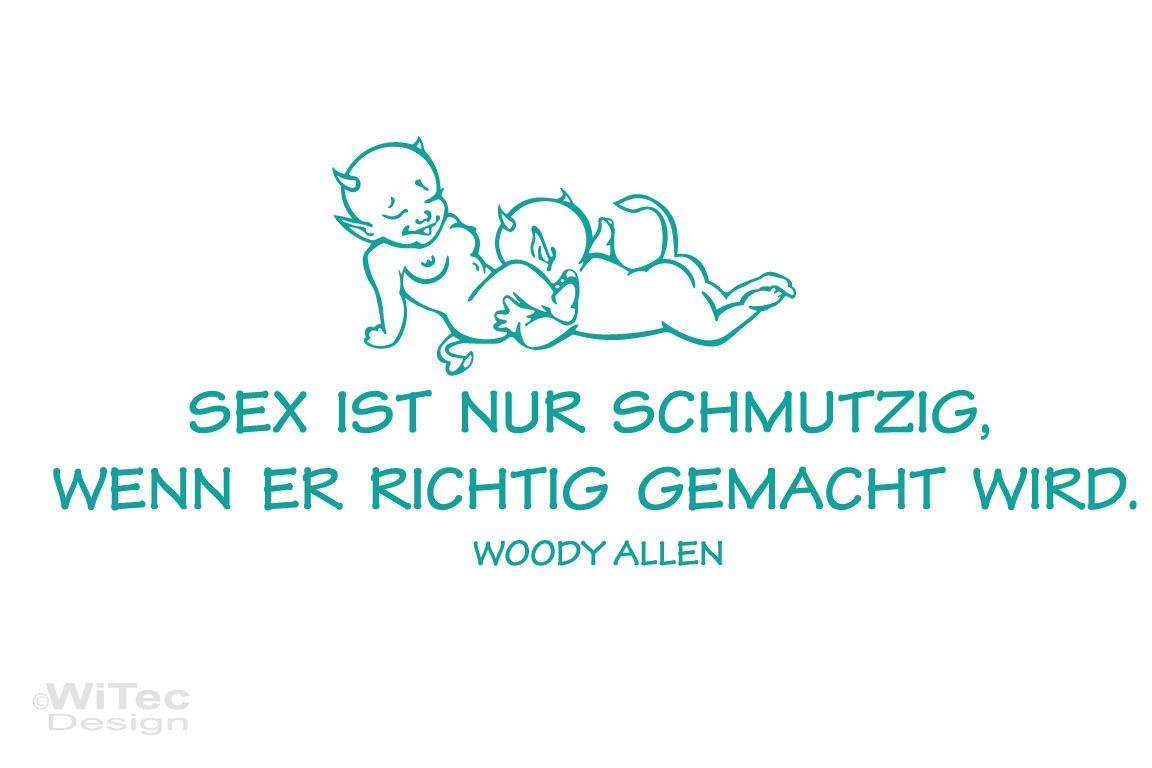 Wandtattoo Schlafzimmer Zitat SEX Liebe Wandaufkleber