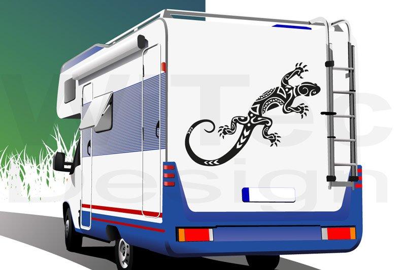Gecko Gekko Echse Wohnmobil Aufkleber Sticker