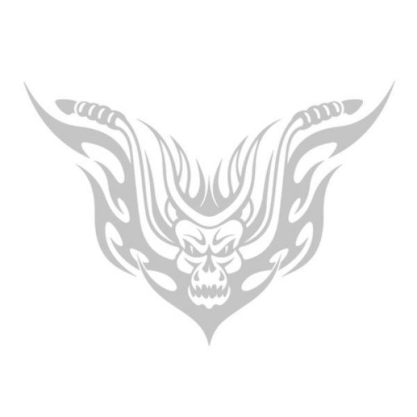 Biker Skull Tribal Motorrad Autoaufkleber Auto Aufkleber