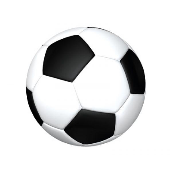 Fußball XXL Wandtattoo Fussball Wandaufkleber