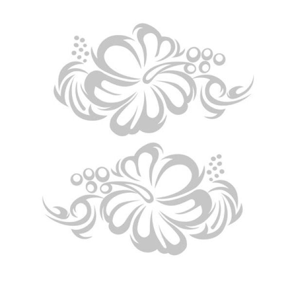 Hibiskus Hibiscus Hawaii Tribal Auto Aufkleber Sticker
