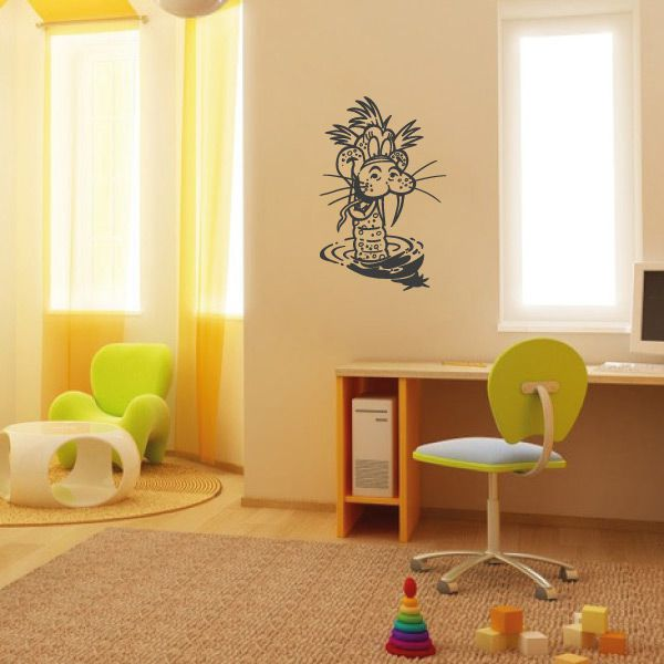 wa252 wandaufkleber drache wandtattoo kinderzimmer. Black Bedroom Furniture Sets. Home Design Ideas