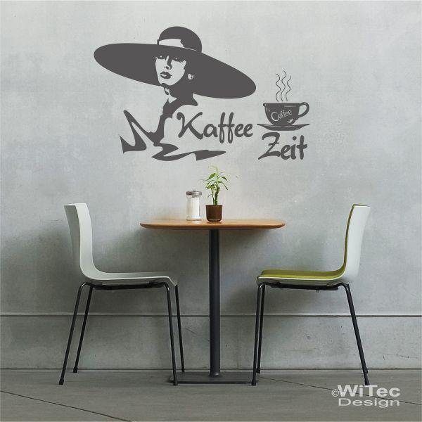 Wandtattoo kaffee zeit wandaufkleber kuche for Wandtattoo küche kaffee