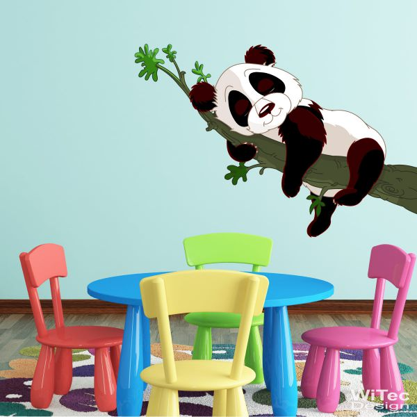 wandtattoo panda b r kinderzimmer wandaufkleber. Black Bedroom Furniture Sets. Home Design Ideas