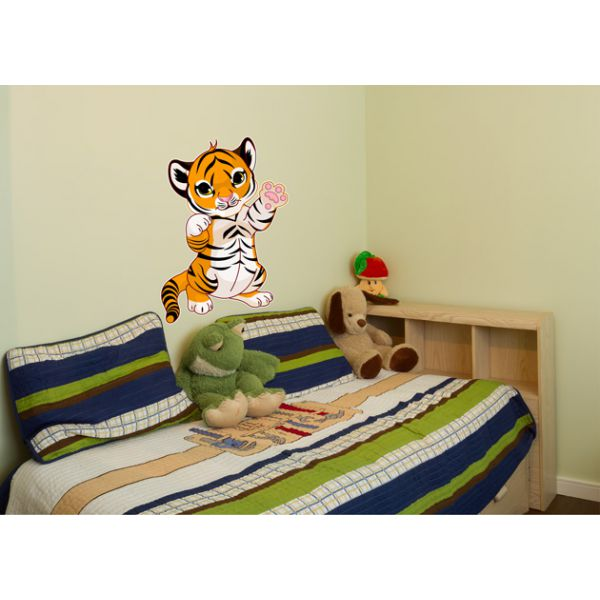 Wandtattoo tigerbaby tiger kinderzimmer wandaufkleber - Wandaufkleber kinderzimmer ...
