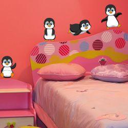 Baby Pinguine Pinguin Wandaufkleber Wandtattoo Sticker Möbeltattoo