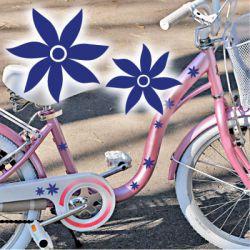 Fahrradaufkleber Blumen Fahrrad Aufkleber Kinder Deko