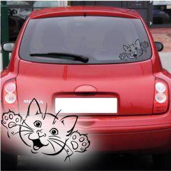 Katze Kätzchen Autoaufkleber Auto Aufkleber Sticker