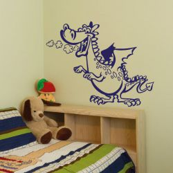 WA271 Wandaufkleber DRACHE Wandtattoo Kinderzimmer