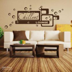 Wandtattoo Chillout Lounge Retro Wandaufkleber