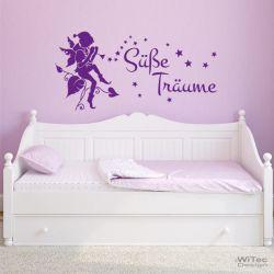 Wandtattoo Kinderzimmer Süße Träume