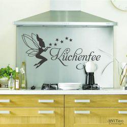 Wandtattoo Küchenfee Wandaufkleber Küche Fee Elfe