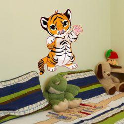 Wandtattoo Tigerbaby Tiger Kinderzimmer Wandaufkleber