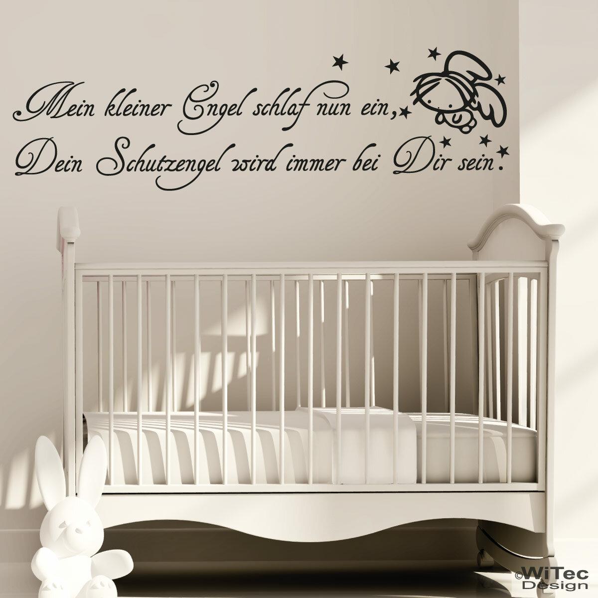 wandtattoo mein kleiner engel wandaufkleber schutzengel. Black Bedroom Furniture Sets. Home Design Ideas