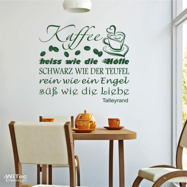 wandaufkleber kaffee wandtattoo coffee k che. Black Bedroom Furniture Sets. Home Design Ideas