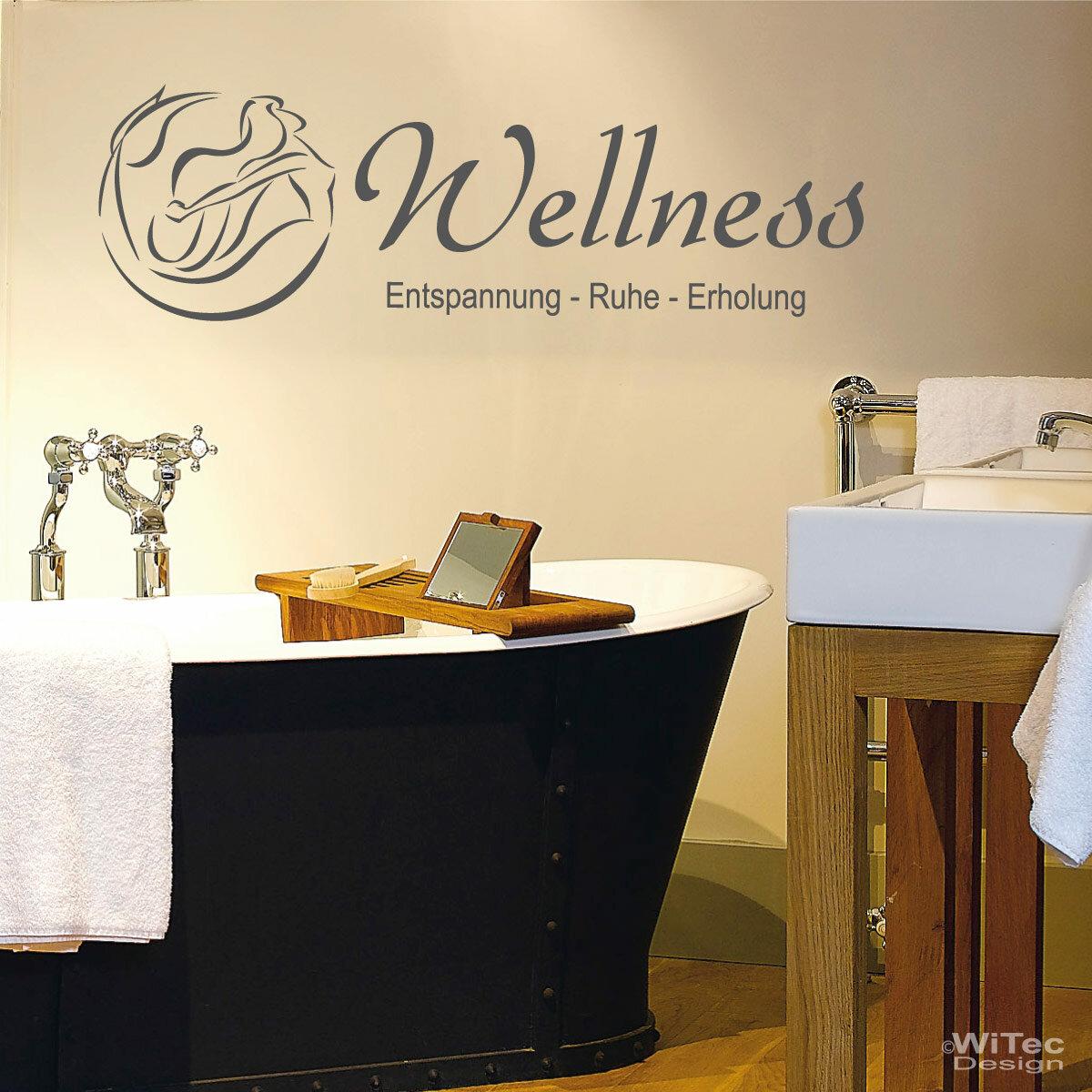 wandaufkleber wellness wandtattoo badezimmer. Black Bedroom Furniture Sets. Home Design Ideas