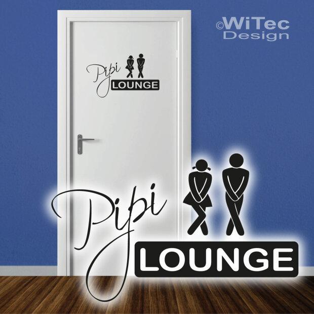 T r aufkleber pipi lounge badezimmer - Badezimmer aufkleber ...