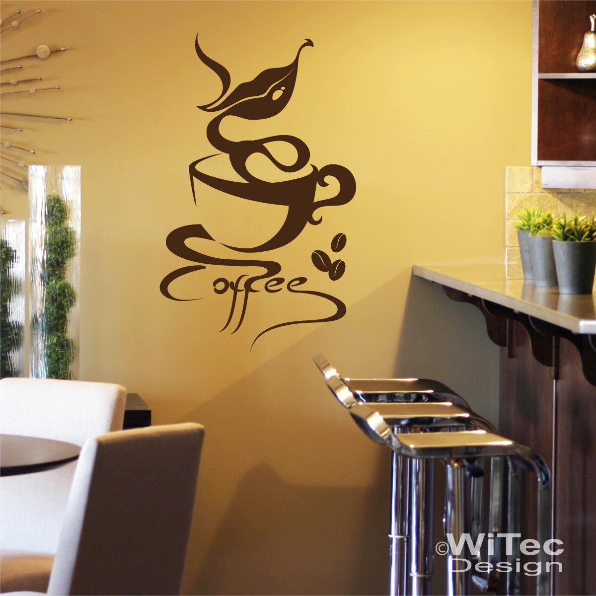 Coffee Wandaufkleber Kaffee Bistro Lounge