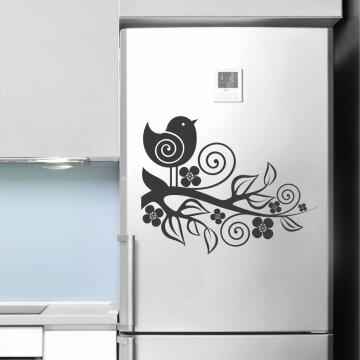 Kühlschrank Deko.Kühlschrank Aufkleber