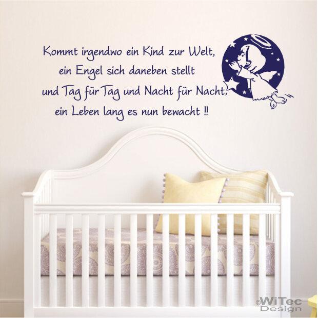 Wandtattoo Kinderzimmer Spruch – Dekor
