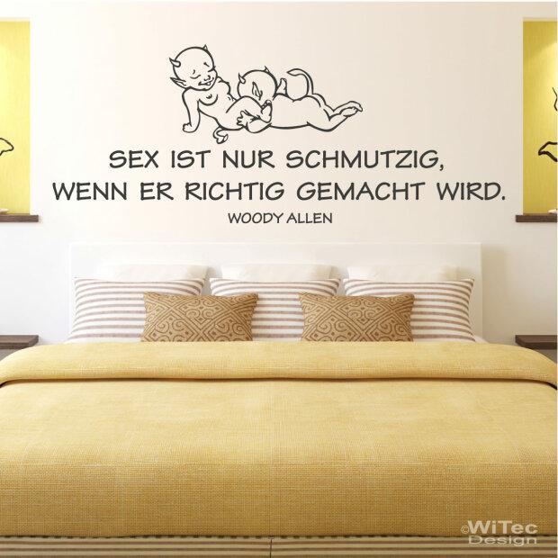 Wandtattoo Zitat Sex Liebe Wandaufkleber