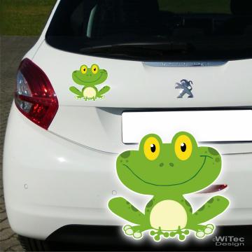 Frosch Autoaufkleber Aufkleber Frosch Abc Aufkleber De