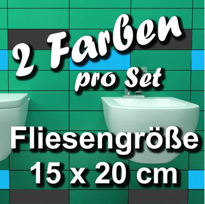 Fa703 Fliesenaufkleber 1qm Kacheldekor Bad Deko 15x20