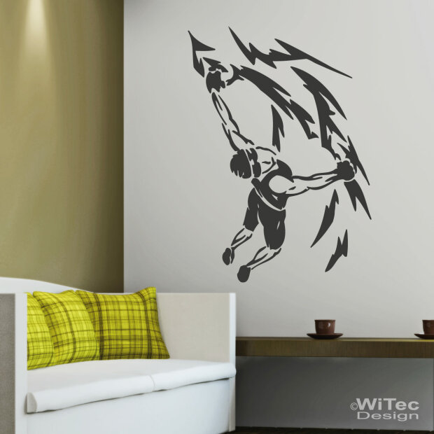 wandtattoo felskletterrer wandaufkleber free climbing. Black Bedroom Furniture Sets. Home Design Ideas