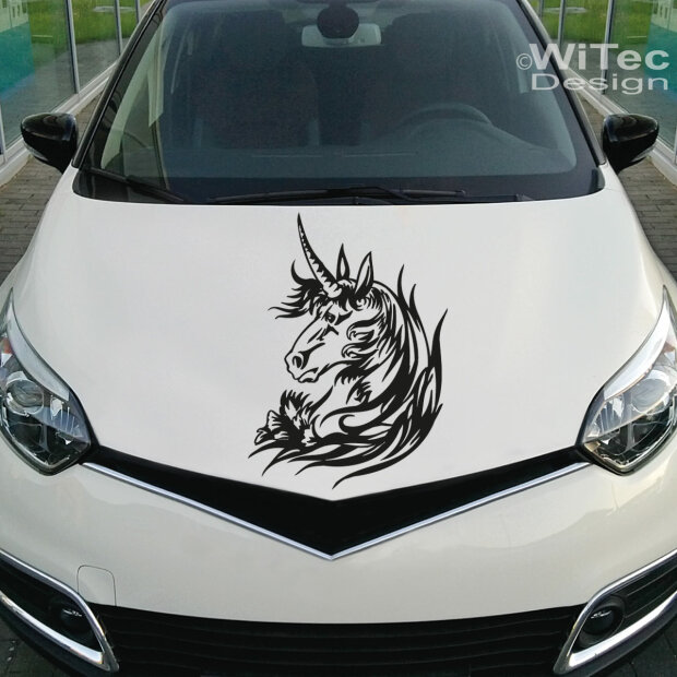 Autoaufkleber Einhorn Unicorn Pferde Aufkleber Auto