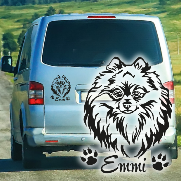 Hungarian Puli Hund Hundeaufkleber Autoaufkleber Sticker Aufkleber AU 87