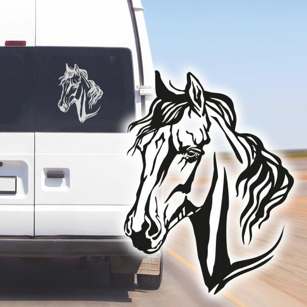 Aufkleber Pferd Aufkleber Araber Aufkleber Pferdehänger Pferdeaufkleber