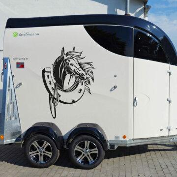 autoaufkleber pferd pferde aufkleber abc. Black Bedroom Furniture Sets. Home Design Ideas
