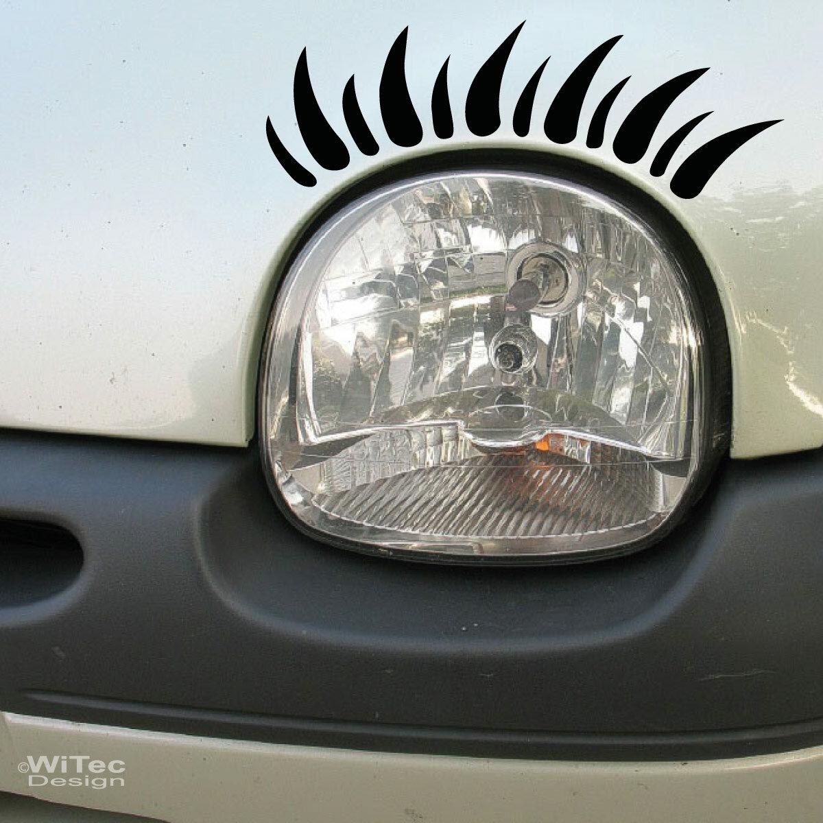wimpern f r twingo auto aufkleber sticker tattoo