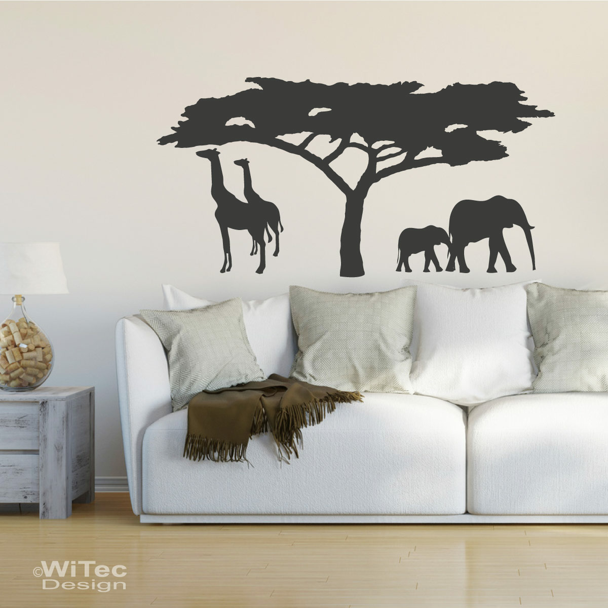 wandtattoo afrika wandaufkleber. Black Bedroom Furniture Sets. Home Design Ideas