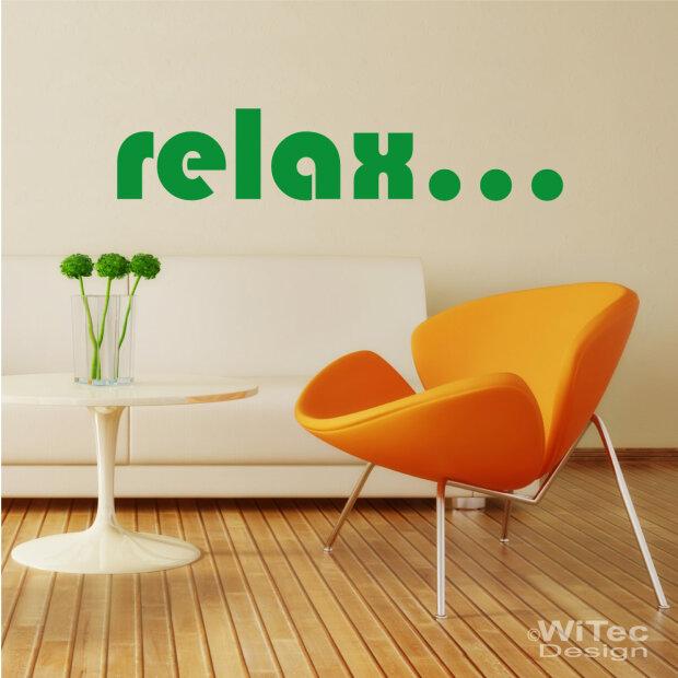 Zitate schriften - Wandtattoo relax ...