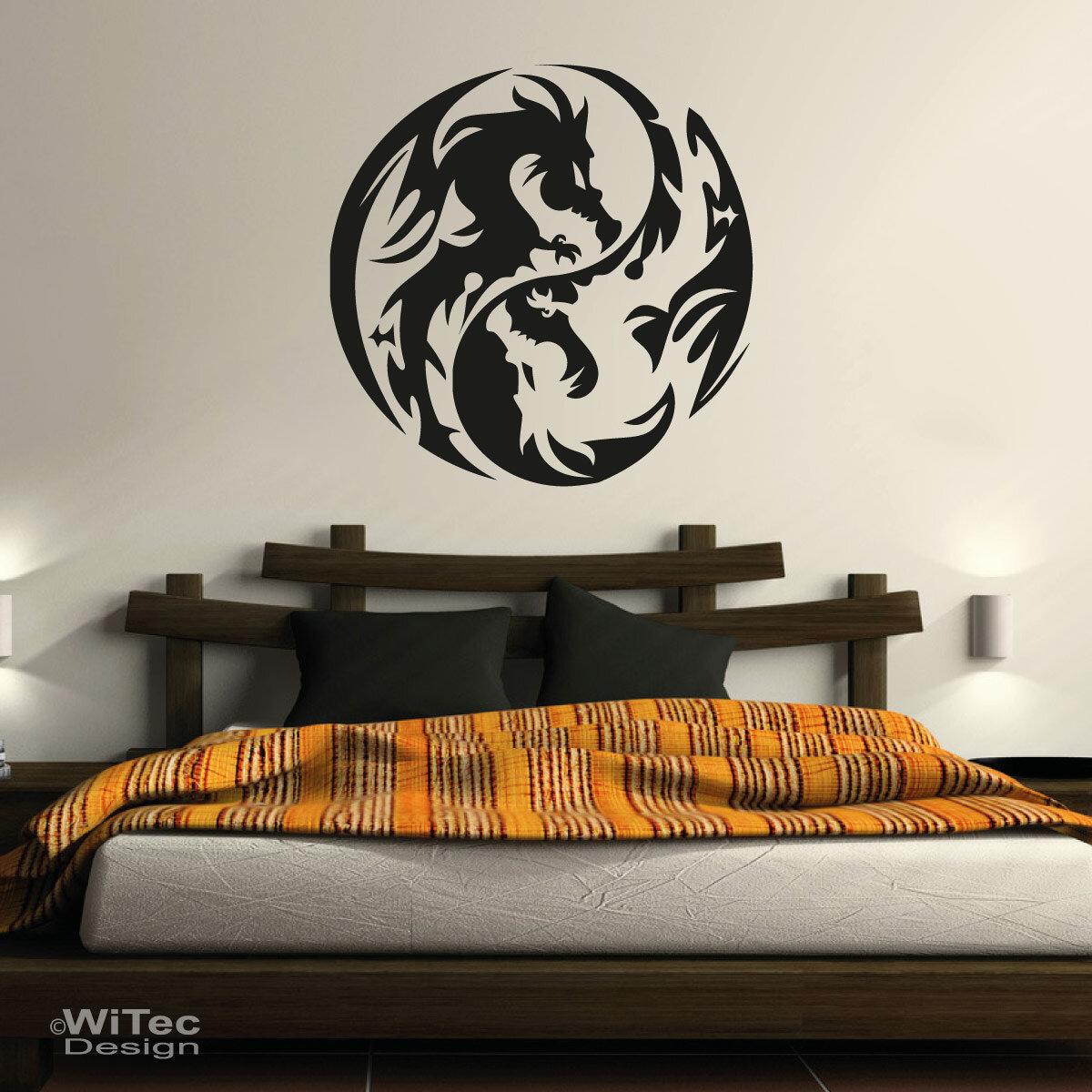 wandtattoo drache dragon wandaufkleber. Black Bedroom Furniture Sets. Home Design Ideas