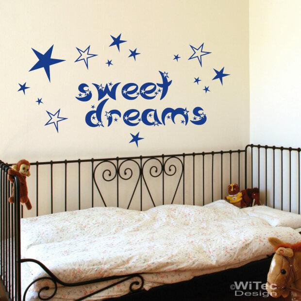 Wall Decals Stickers Wandtattoo Wandaufkleber Schlafzimmer Sweet Dreams Spruch Sternen Kinderzimmer Home Furniture Diy Breadcrumbs Ie