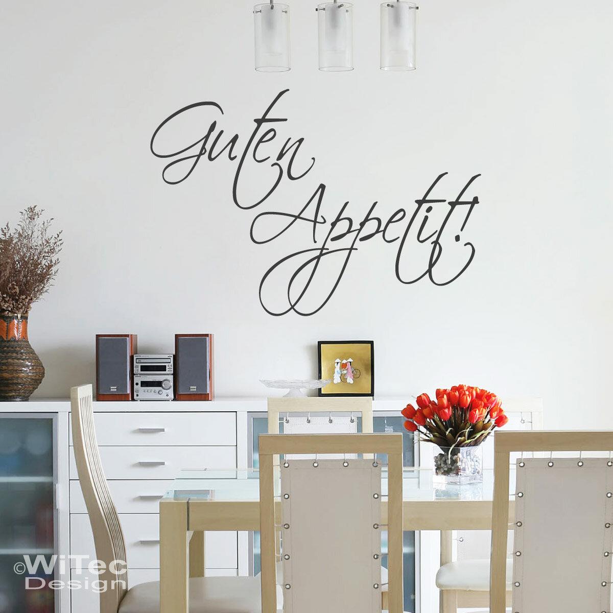 Niedlich Wandtattoo Küche Guten Appetit Fotos - Innenarchitektur ...