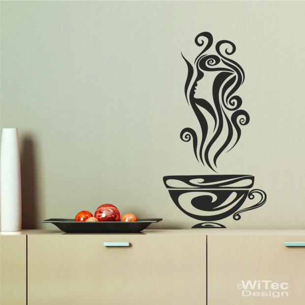 Wandaufkleber Kaffee Küche Wandaufkleber