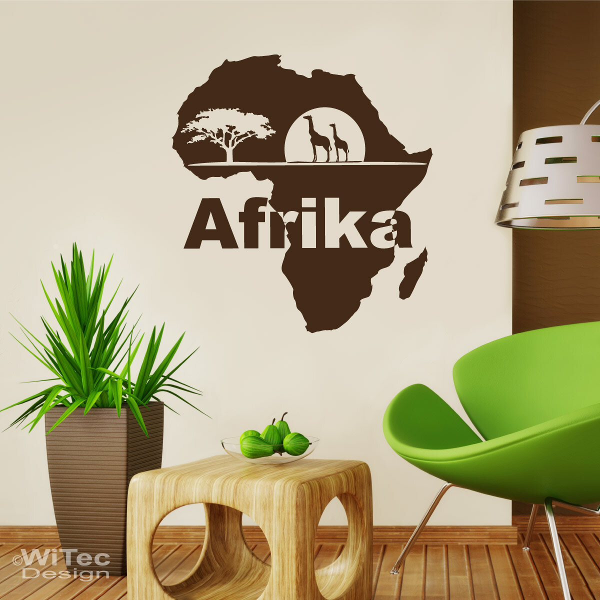 wandtattoo afrika giraffe wandaufkleber. Black Bedroom Furniture Sets. Home Design Ideas